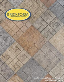 Brickform Colored Concrete Catalog