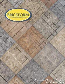 Brickform Colored Concrete Catalog