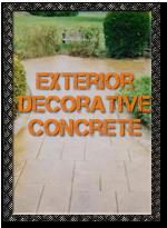 Exterior Decorative Concrete Applications