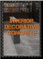 Interior Decorative Concrete Applications